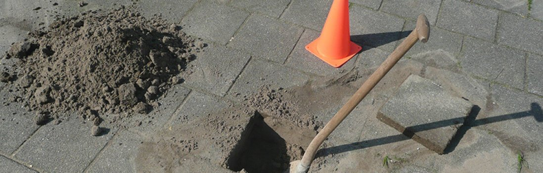 Wie vergießt man den Bodenanker