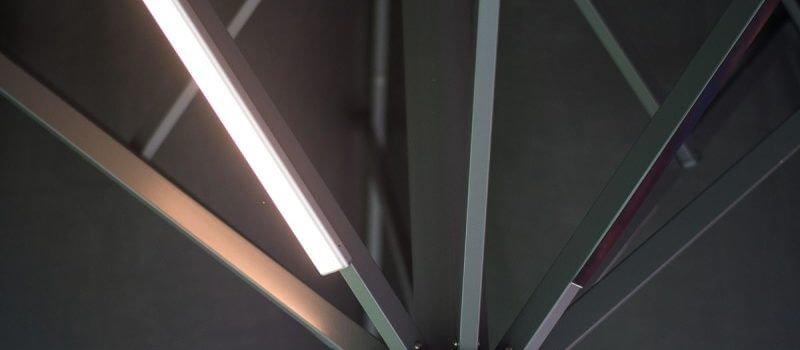 Solero Lux Sonnenschirm beleuchtung